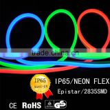 100V~230V SMD2835/5050 LED neon flex rope light/IP65 neon lamp indoor and outdoor use wholesale decoration light