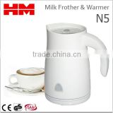 One-Touch ABS Housing Automatic Electric Milk Frother & Warmer For Coffee Foam Maker Cappuccino , Model N5