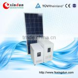 cabinet solar energy system 1KW portable home 1000w solar power system with inverter battery controller built in a cabinet