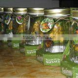 Flying Butterfly Glass Jar Solar Jar lights
