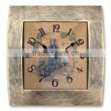 Wine&Grape Vintage Wall Clock