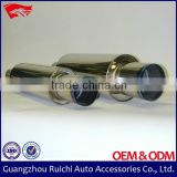 Exhaust Pipe Stainless Steel Performance Auto Universal Straight Stainless Exhaust Muffler Tail Pipe Tips