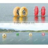 Safe & stimulant plastic water machine with forward, backward, turning or rotating in water