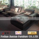 AD508 Leather recliner couch