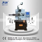 high quality 4 axis CNC spring coil winding machine