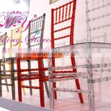 acrylic chiavari wedding chair Bamboo section chair