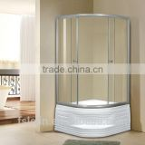 Foshan Lelin aluminum alloy bath shower enclosure cabin vanity with 6mm tempered glass JC-09