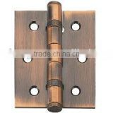 China cheap wooden door hinge Iron door flat butt hinge furniture four ball bearing gate hinges