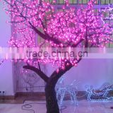 New solar cherry tree fancy light up cherry trees for christmas tree with high quality pink cherry tree with shining light