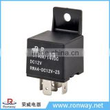 Ronway manufacturers wholesale stable performance mini 12V 40A 4 pin automotive air conditioning relay