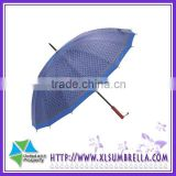 23''Manual Rain Advertising Stick golf umbrella