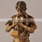 Man kiss world cup resin statues trophy cup