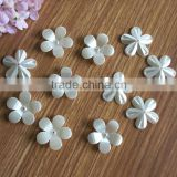 fantastic ABS plastic 5 petals flower shape big size plastic pearl for fashion jewelry accessories