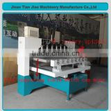 CE approved China multi function 4 -axis wood clyder engraving machine TJ12025-8(1200*250mm )