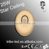 25w 430mm Brightness and CCT adjustable by infrared remote controller Starry Sky Ceiling Light