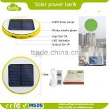 Custom cell phone solar charger 10000mah ultra slim power bank thin,battery charger slim bulk cheap