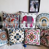 High Quality Household Embroidery Cotton Pillow Case Cover, Living Room Sofa Chair Office Squire Geometric Cushion Cover