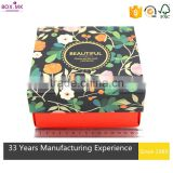 Modern Design Promotion Square Cosmetic Gift Set Packaging Box