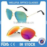 2015 hot sale High quality imitation glasses can custom logo italian brand polarized sunglasses china supplier
