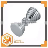 BH-08 Screw thread Knobs, Bathroom sliding aluminum door handle, double sided glass door knobs