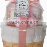 natural beauty care bath spa set from China