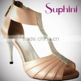 Suphini Pink wholesale bridal shoes, Latin Shoes Design