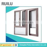 wardrobe aluminium glass door designs/aluminum buckle high quality casement door in hot sale