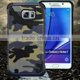 100% protect phone Military Army cover case for Galaxy Note7 , latest mobile phone accessories factory in China