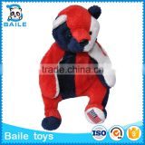 USA Stuffed plush bear toy with customize logo