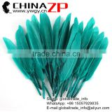 Gold Supplier CHINAZP Factory Bulk Sale Selected Prime Quality Good Dyed Peacock Green Duck Feathers for Decoration