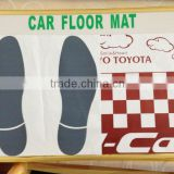 paper car floor mats for cars,automobile disposable paper floor mats coated with plastic,paper car floor mats for sale