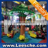 2015 new arrival Mushroom tree 6P kiddie ride kids game amusement park equipment game machine for sale