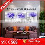 wholesale dropshipping oil painting flower lotus flower painting modern acrylic painting flowers