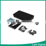Full Shell Housing Case Replacement Parts for Nintendo 3DS(black)