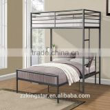 Zhanghzou cheap loft bed metal bunk beds with desk
