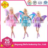 2016 New product 11.5 inch PVC Defa Flying butterfly Fairy Doll with beautiful wings for wholesale