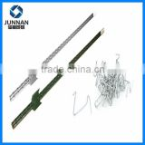 High quality 1.33lb/ft metal t bar fence post with plate for sale / best sales T post in alibaba