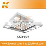 Elevator Parts|Cabin System|Elevator Cabin Decoration|KT21-D05 Elevator Ceiling|elevator ceiling light panel