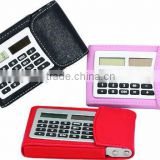 8 digital Name card holder electronic calculator