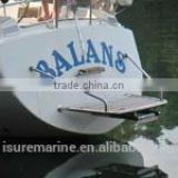1090X600 FOR SAILBOAT MARINE BOAT TEAK SWIM PLATFORMS FOR LADDER