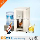 Cooling water & ice dispenser for office/bar use