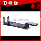 100T Tri-axle Drop Step Deck Trailers for online shopping