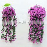 GNW FLV05 New Product 2014 Hanging Flower Balls for Wedding Wisteria Artificial Flower Vine