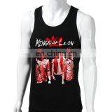 Kings of Leon men's tank tops xxxl,men tank top fitness