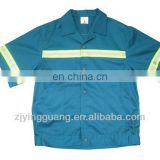 Safety Work Shirt Made-in 100% Cotton Fabric