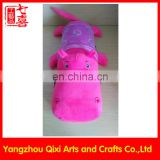 Customized electric hot water bag plush animal crocodile electric hand warmer