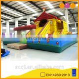 AOQI popular classical house inflatable home yard decoration inflatable fun city for sale
