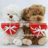 15cm Amy tiny teddy bear with heart lovely toy