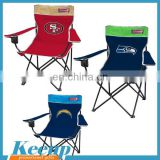 Logo items Outdoor furniture stainless steel portable folding table and chair set for fishing