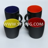 9 oz ceramic coffee mugs with chalk